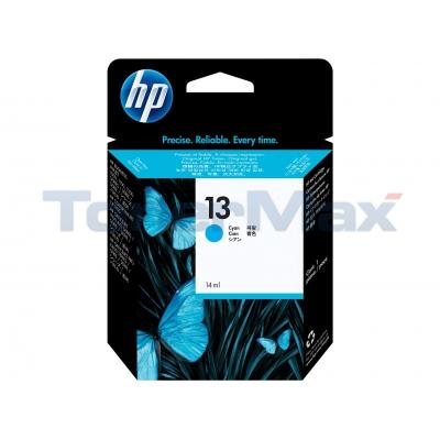HP NO 13 INK CYAN